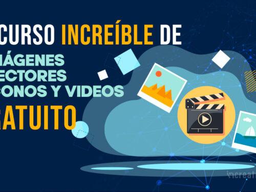 Recurso increible de imágenes, vectores, iconos y videos gratuito